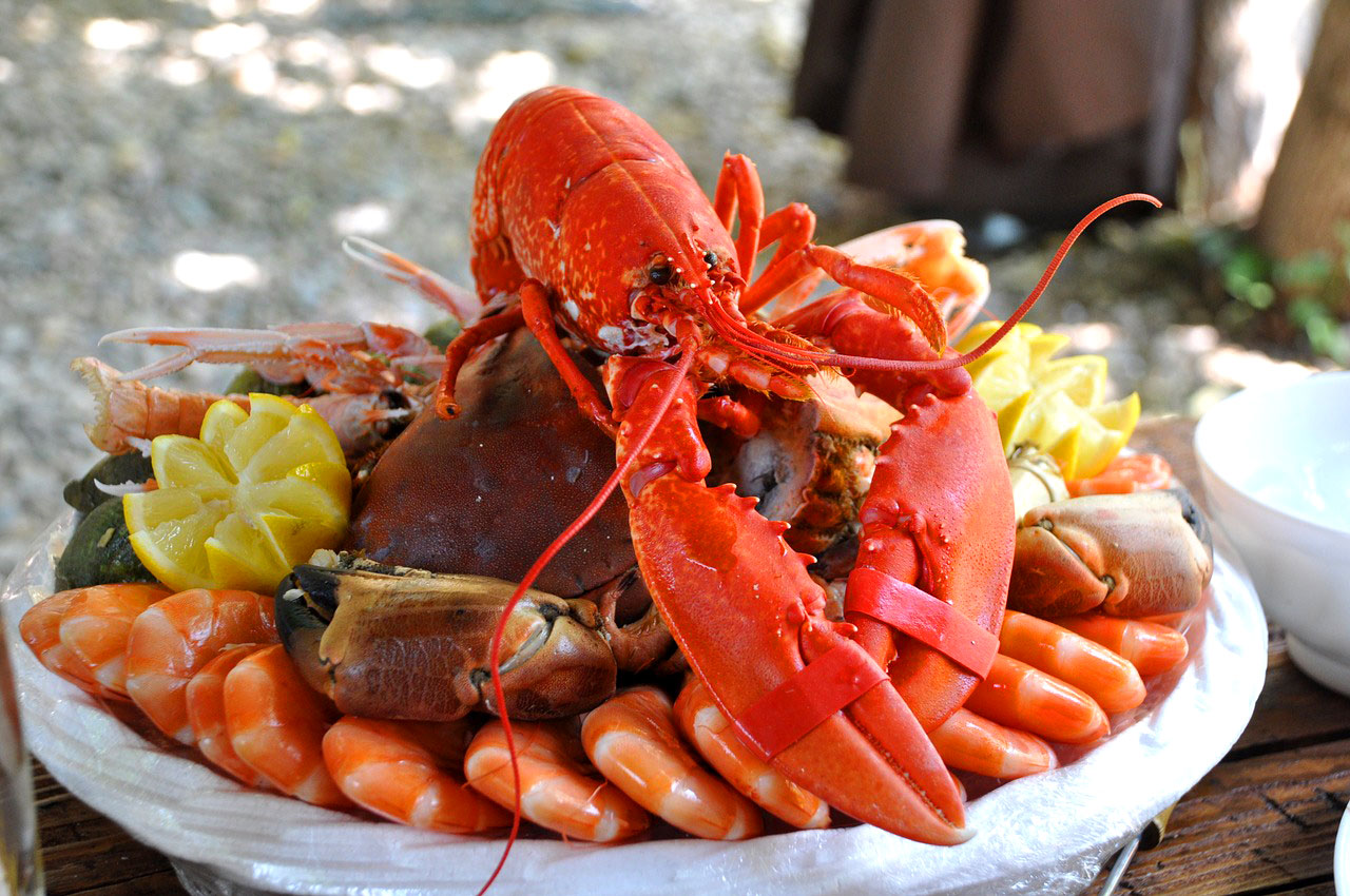 Food for poor people and prisoners. Happy Lobsters Day!