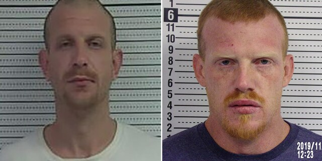 The McCracken brothers were reunited at the Jackson County Jail.